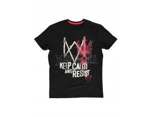 Watch Dogs: Legion - Keep Calm E Resist - T-shirt Uomo Difuzed