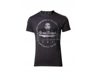 Star Wars - Varsity Stormtrooper Longline T-shirt Difuzed