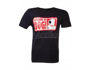 Family Guy - Beware Of Dog T-shirt Difuzed
