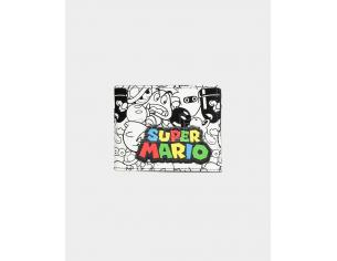 Nintendo - Super Mario Aop Portafoglio Pieghevole Difuzed