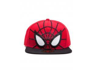 Spider-man - 3d Cappellino Snapback Con Occhi In Rete Difuzed