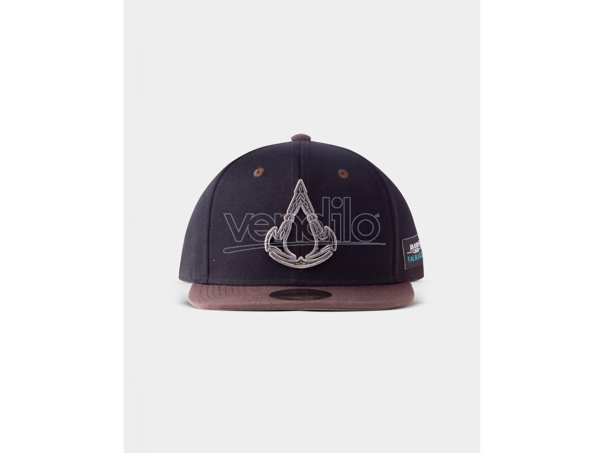 Assassin's Creed Valhalla - Metal Badge Cappellino Snapback Difuzed