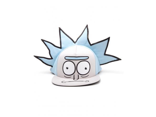 Rick E Morty - Rick Novelty Cappellino Snapback Difuzed