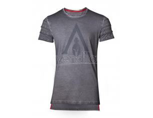 Assassin's Creed Odyssey - Logo Oil Dye Pintuck T-shirt Difuzed