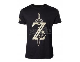Zelda - T-shirt Men's Z Con Sword Difuzed
