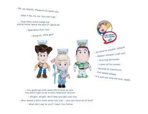 English Disney Pixar Toy Story 4 Buzz Lightyear Peluche 30cm Con Suono Play By Play