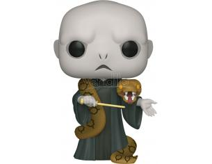 Harry Potter Funko POP Film Vinile Figura Lord Voldemort con Nagini 25 cm