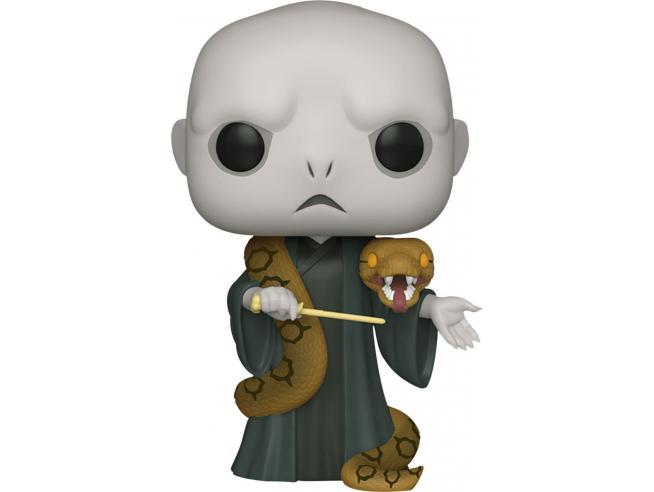Harry Potter Funko POP Film Vinile Figura Lord Voldemort con Nagini 25 cm