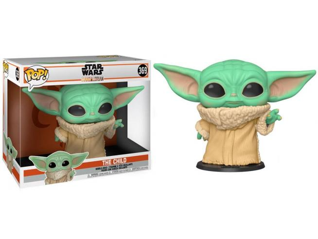 Star Wars Mandalorian Funko POP Film Vinile Figura Yoda Bambino 25 cm