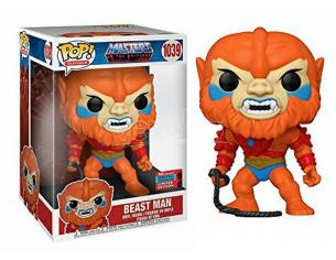 Masters of the Universe Funko POP TV Vinile Figura Beast Man 25 cm Esclusiva