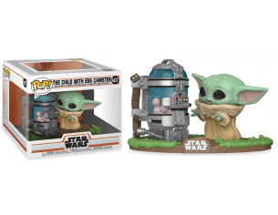 Star Wars Funko POP Vinile Figura Yoda Bambino Con Contenitore Uova 9cm