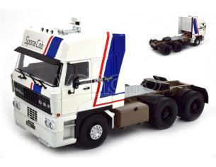 KK SCALE RK180091 ROAD KING DAF 3300 SPACECAB 1982 WHITE/BLUE 1:18 Modellino