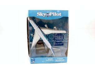 NEW RAY NY20673A SKYPILOT PASSENGERS PLANES BOEING 747-400 cm 24 SCALA 1:270 Modellino