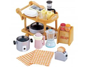Sylvanian Family 5090 - Accessori cucina
