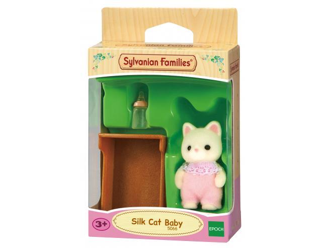 Sylvanian Family 5066 - Bebè Gatto Seta