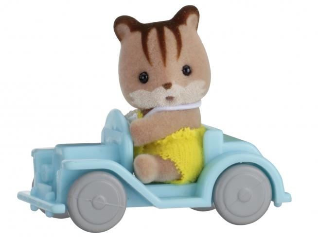 Sylvanian Family 5203 - Bebè Scoiattolo e macchina