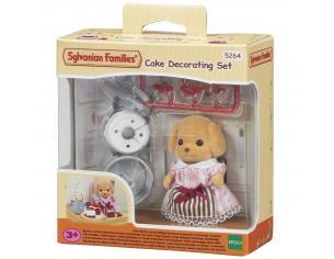 Sylvanian Family 5264 - Cake Decimmediatation Set