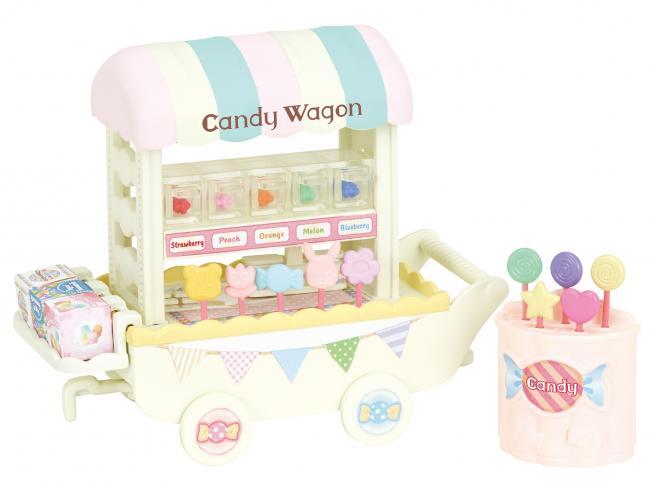 Sylvanian Family 5266 - Carretto vendita dolciumi
