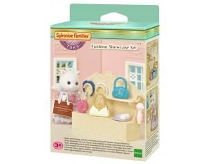 Sylvanian Family 6015 - Espositore e accessori