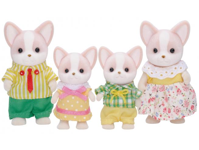 Sylvanian Family 4387 - Famiglia Chihuahua