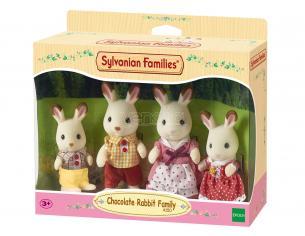 Sylvanian Family 4150 - Famiglia Coniglio Cioccolato