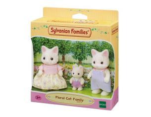 Sylvanian Family 5373 - Famiglia Gatto Floreale
