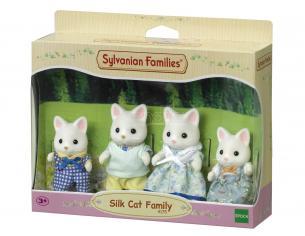 Sylvanian Family 4175 - Famiglia Gatto Seta