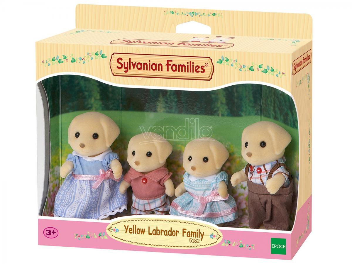 Sylvanian Family 5182 - Famiglia Labrador