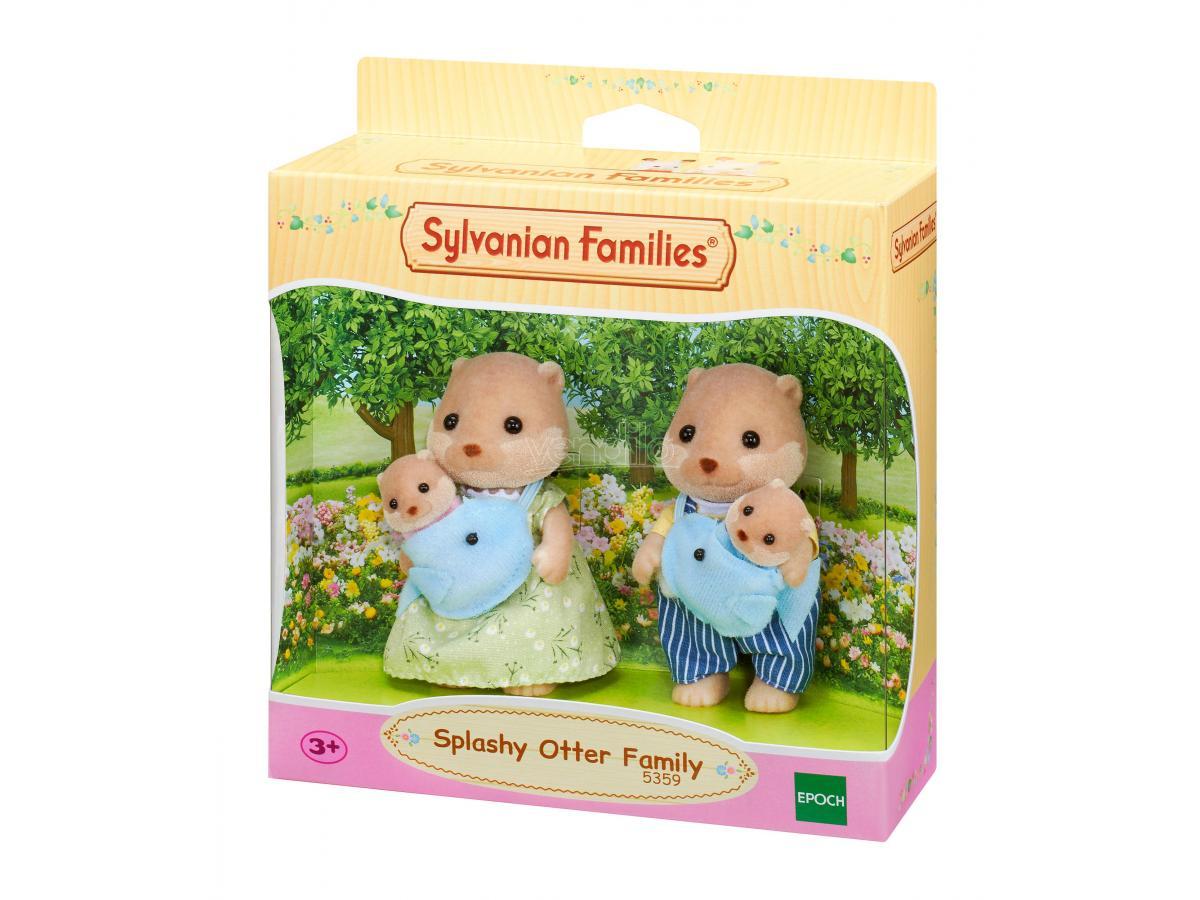 Sylvanian Family 5359 - Famiglia Lontra