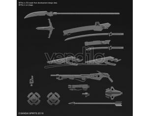 30MM CUSTOM WEAPONS SENGOKU ARMY 1/144 MODEL KIT BANDAI MODEL KIT
