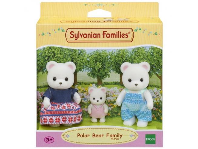 Sylvanian Family 5396 - Famiglia Orso Polare