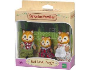 Sylvanian Family 5215 - Famiglia Panda Rosso