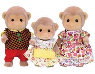 Sylvanian Family 5214 - Famiglia Scimmia