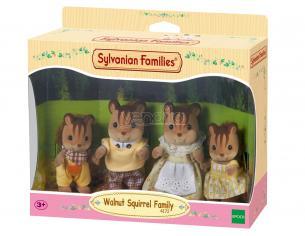 Sylvanian Family 4172 - Famiglia Scoiattolo Nocciola