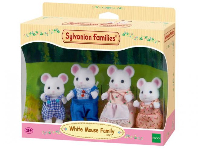 Sylvanian Family 4121 - Famiglia Topino Bianco