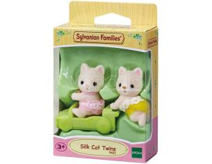 Sylvanian Family 5422 - Gemelli Gatto Seta