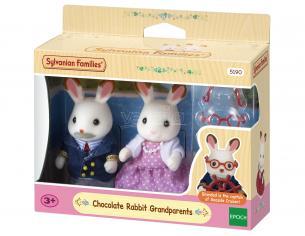 Sylvanian Family 5190 - Nonni Coniglio Cioccolato