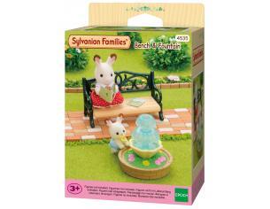 Sylvanian Family 4535 - Panchina e fontana