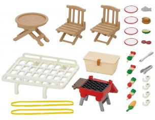 Sylvanian Family 5048 - Portapacchi e set picnic