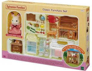 Sylvanian Family 5392 - Set arredamento base per Cosy Cottage