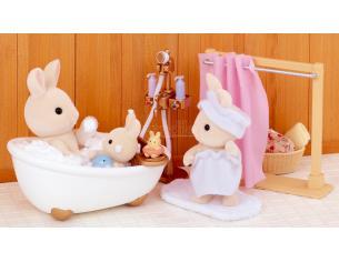 Sylvanian Family 5022 - Set bagno e doccia