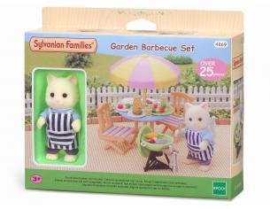 Sylvanian Family 4869 - Set barbecue in giardino