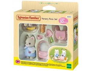 Sylvanian Family 5103 - Set pic - nic dell'asilo