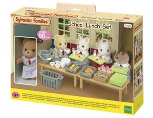 Sylvanian Family 5108 - Set pranzo scolastico