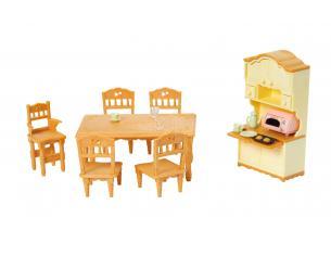 Sylvanian Family 5340 - Set sala pranzo