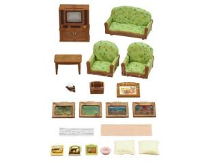Sylvanian Family 5287 - Set soggiorno e TV