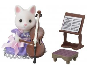 Sylvanian Family 6010 - Set Violoncello in Concerto