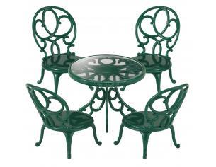 Sylvanian Family 4507 - Tavolo e sedie da giardino