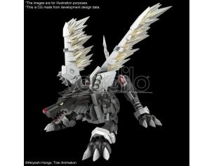 FIGURE RISE AMP METALGARURUMON BLACK VER MODEL KIT BANDAI MODEL KIT