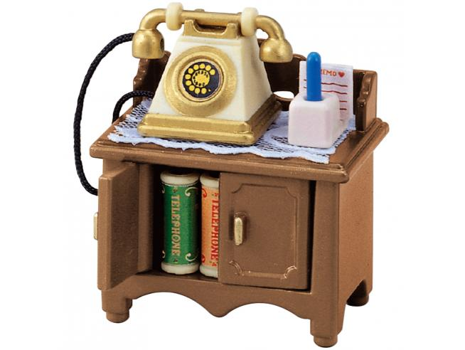 Sylvanian Family 5030 - Telefono con mobiletto